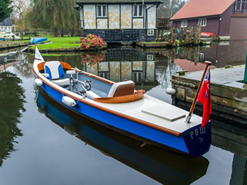 Couples luxury pedal boat.
